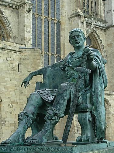 a biography of flavius valerius constantinus a roman emperor Constantius i (latin: marcus flavius valerius constantius herculius augustus 31 potter, david stone, the roman empire at bay, ad 180-395, routledge, 2004.
