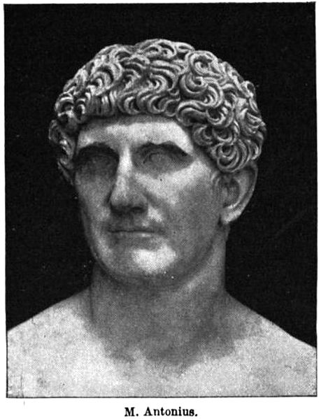 marc antony of rome. 6 Mark Antony